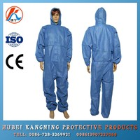 Disposable Non-woven Medical Protective Clothing with Cap