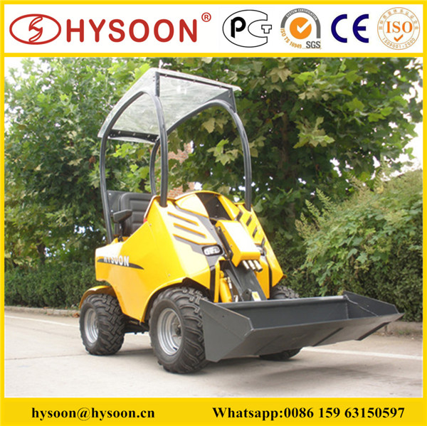 hysoon small front end loader farm tractor