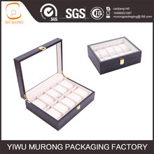 China supplier 10slots Solid wooden personalized watch box