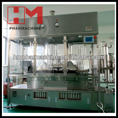 Closed Ampoule Filling and Sealing Machine for Pharmaceutical