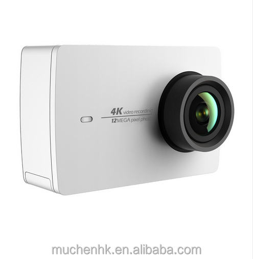 "Global Version YI 4K Action Camera 12MP CMOS 2.19"" 155 Degree Xiaomi Original Cameras Ambarella A9SE"