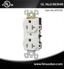 Hot selling fine quality wall mounted power outlet socket from China