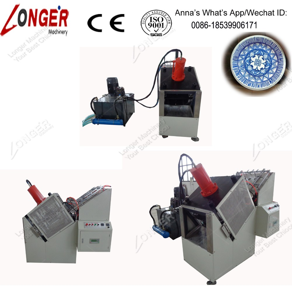 Small Manual Paper Plate Making Machine Pulp Molding Equipment For Tableware