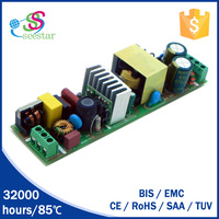 shenzhen manufactures led bulb driver open frame high PF isolated constant current 60w 1800ma led power supply