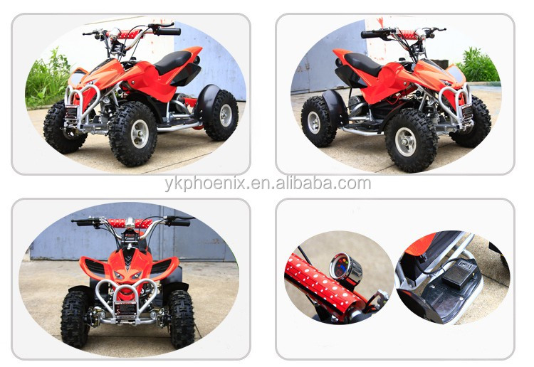CE approval 36 volt 500W 800W 1000W electric atv battery kids quad bike with Foot safety switch (PE9053)