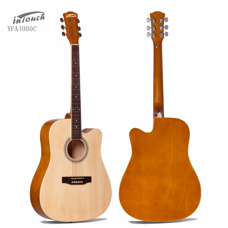 41 inch Cutaway Acoustic Guitar China Factory YFA4100C