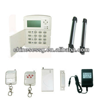 Wireless Security Yard Security Alarm System with IR Fence Sensor