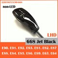 Free ship for BMW E90 E91 E92 E93 E82 E84 E85 E87 E88 E89 E63 E64 Shift knob (non LED) 2205967Z-E90-668 Gear selector Gloss