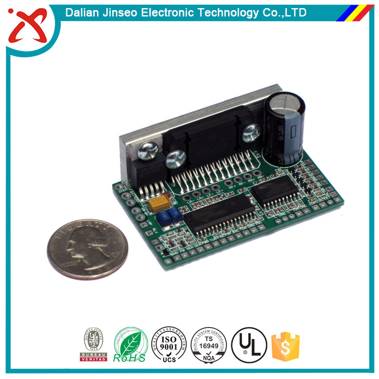 Rohs car audio amplifier positive pcb circuit board