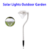 Waterproof Diamond Stake Motion Sensor Solar Garden Light Decorative