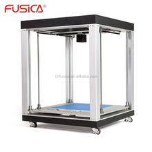 FUSICA pla abs 1.75mm filament large sls 3d metal printer machine with glass protect