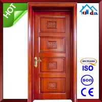Wooden Hdf main Fancy door frame designs