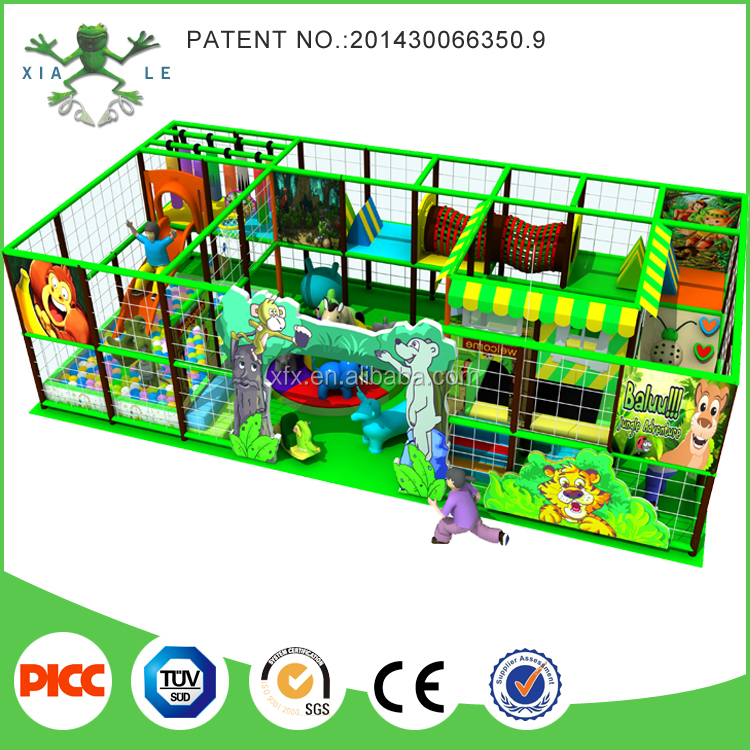 CE Jungle Themed Play Fort Indoor Kids Indoor Playground Equipment