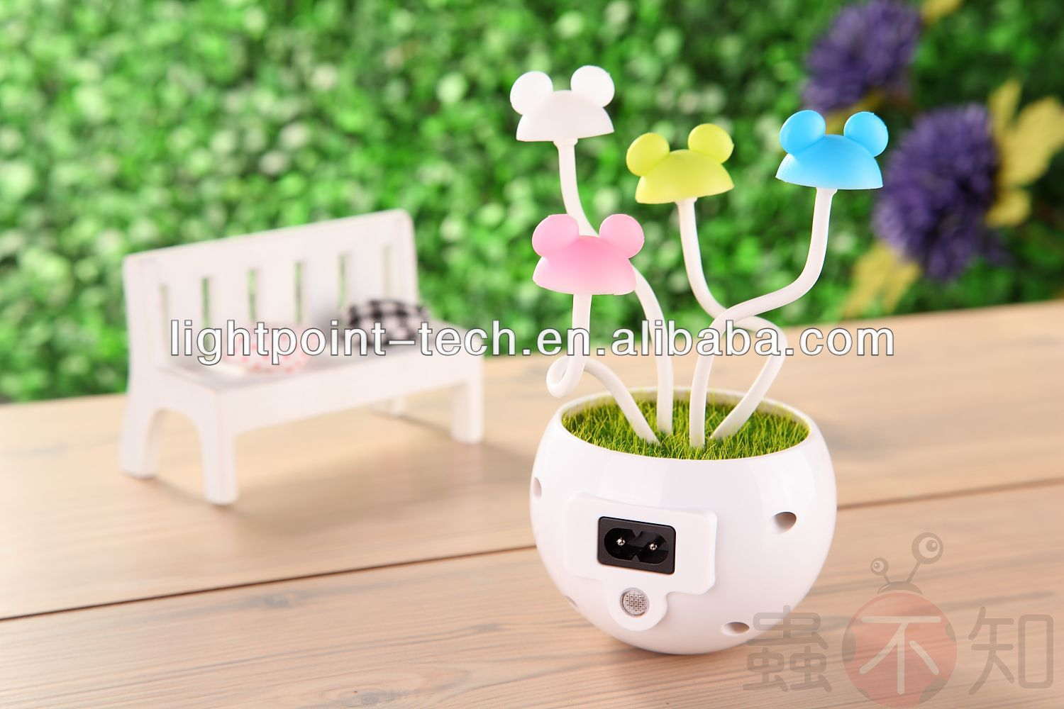 Mini tree a night light,LED tree gift, landscape of flower with LED light