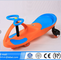 CE EN 71 ASTM F963 Approval Lebei Kids PP and Iron material playing professional twist car factory