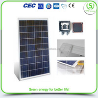 Top grade hot sale 100 watt portable solar panel