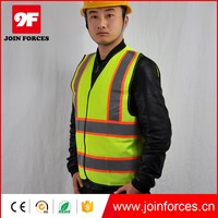 Work Reflective Safety Vest With Pockets