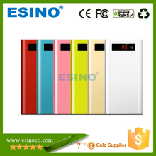 Esino Slim Power bank with Alumium case 10000mAh charger