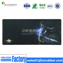 Promotion use natural rubber customize gaming mouse pads