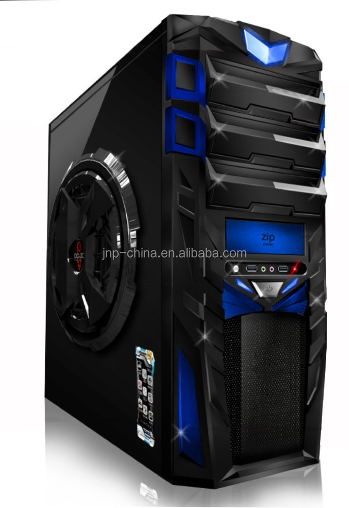 Hot selling black micro atx computer case and tower with power supply