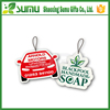 Promotional customized colorful decorative car air freshener
