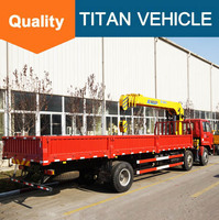 Construction Machinery cranes small truck crane with high quality