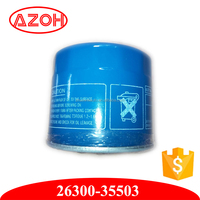 New Arrive car engine Oil Filter For Hyundai Kiaa 26300-35503