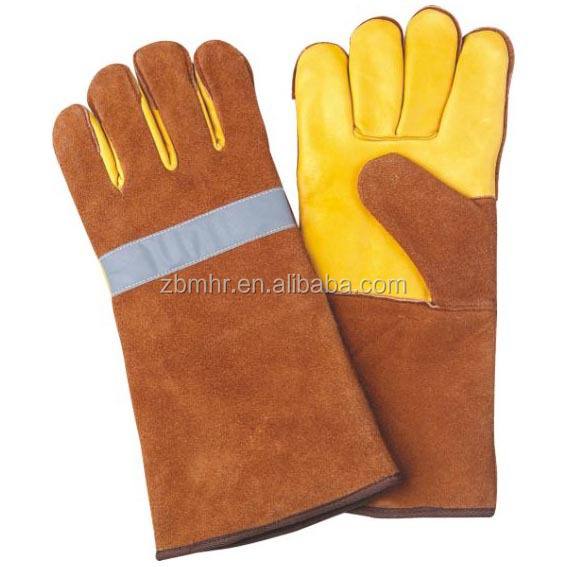 Brand MHR Hot!Reinforced writing glove long welding gloves