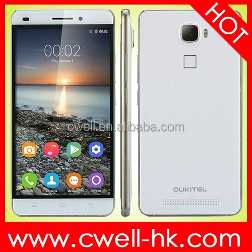 OUKITEL U8 with Fingerprint 5.5 Inch 2.5D IPS Screen MTK6735M Quad Core 2GB/16GB Android 5.1 Lollipop smartphone