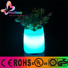 PE Plastic Shell Solar Led Flower Pot Light,led decorative flower lights