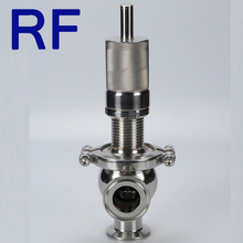 RF SS304/316L Sanitary Stainless Steel Safety Valve/Expansion Valve /Pressure Reducing Valve For processing Equipment