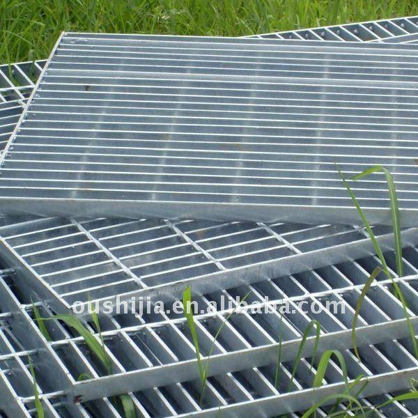 Suelos de malla de acero galvanizado estructuras de acero - Malla de acero galvanizado ...