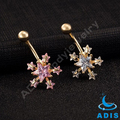 Body piercing jewelry wholesale Chinea hot selling wedding belly button rings