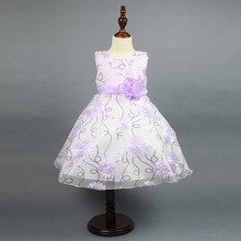 Hot Sale Graduation Ball Gowns Communion Birthday Wedding Party Dresses For Kids L7790