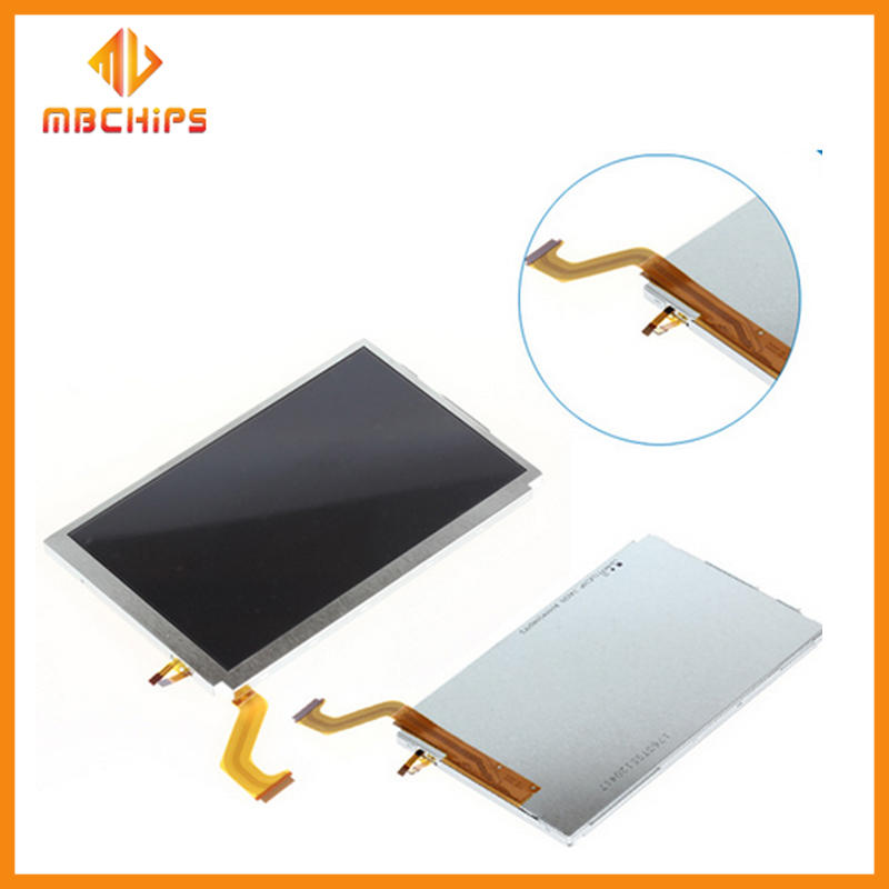100% tested Brand NEW Top LCD for 3DS XL,Game Spare Parts Upper LCD Screen For 3DS XL