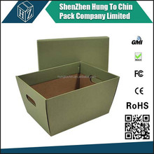 Packing factory high quality corrugated paper office file storage banker box with printing