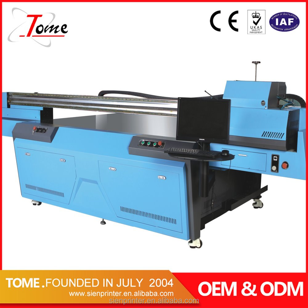 large format konica head UV Digital Flatbed printer price in Guangzhou China