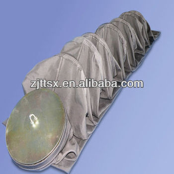 Woven fiberglass fabric with PTFE coated filter bag