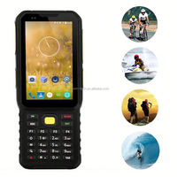 Rugged Mobile Phone With Light Sensor