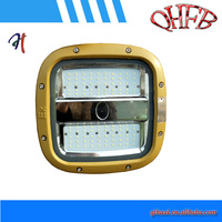 Explosion proof illumation LED pole type light