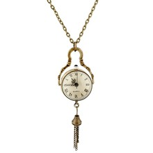 Classic clear glass sphere design Japan movt quartz pocket watch