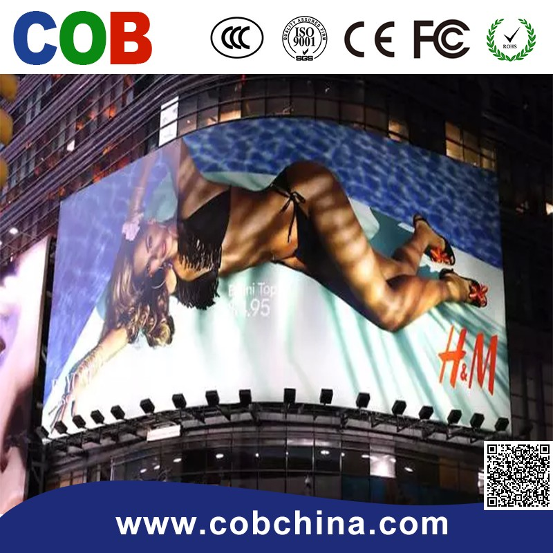 alibaba cn com P6 outdoor advertising led display board/screen/wall price in singapore