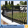 1.5m* 2.4m wrought iron fence steel security fence/ Hot-dipped Galvanized pool fence panels