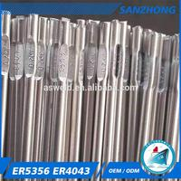 aluminum welding rod aluminum magnesium alloy welding wire er4043 co2 welding wires made in China