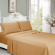 White color comforter bedding sets Hotel Soft Microfiber Bed Sheets