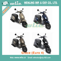 Hot selling products new scooter with cheap price piaggio zip city for sale Motor Scooter Gas Moped Grace 50cc (EEC Euro 4)