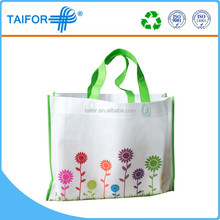 High quality reusable vinyl tote shopping bag