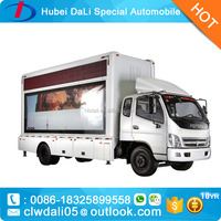 outdoor led display billboard trucks for sale