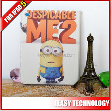 for ipad air case cover 360 rotating case with magic sticker