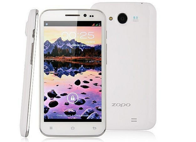 ZOPO ZP820 Latest Mobile Phone 5.0'' QHD Screen,960*540Pixs,MT6582 1.3Ghz Quad Core Android4.2,8.0+8.0MP Camera ZOPO ZP820